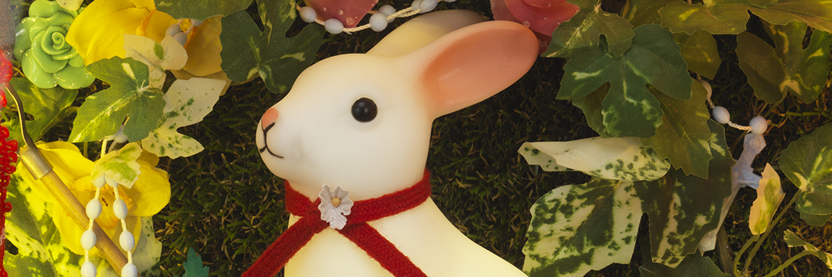 Easter Bunny (Detail) by Sarah Kelly