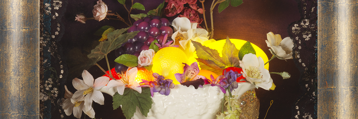 Still Life After Death (Detail) by Sarah Kelly