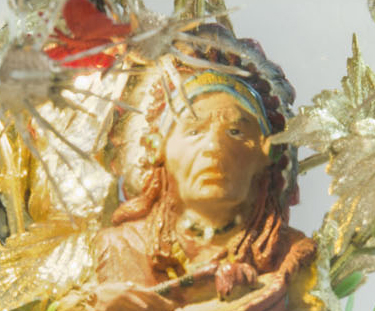 Big Chief(Detail) by Sarah Kelly