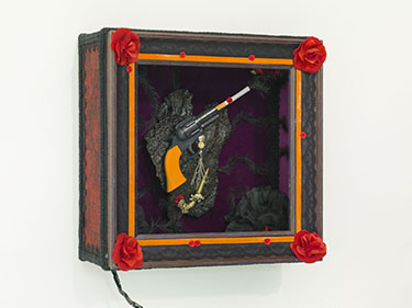 My Smoking Gun (Side-On) by Sarah Kelly
